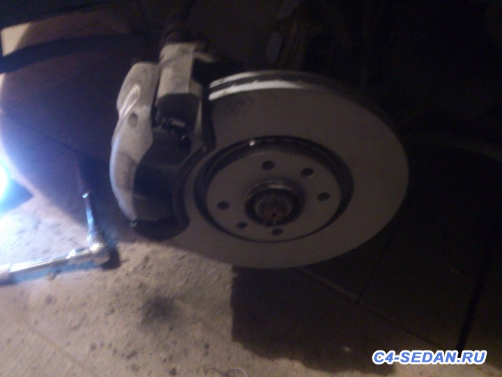 Тормозной суппорт, тормозные диски и колодки - DSC_0381.jpg