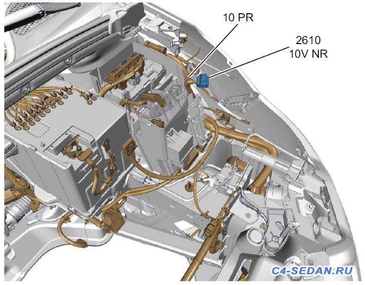 Разъёмы в автомобиле схемы подключения, маркировки  - Расположение.jpg