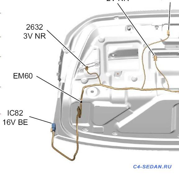 Разъёмы в автомобиле схемы подключения, маркировки  - IC82 (16V BE).jpg