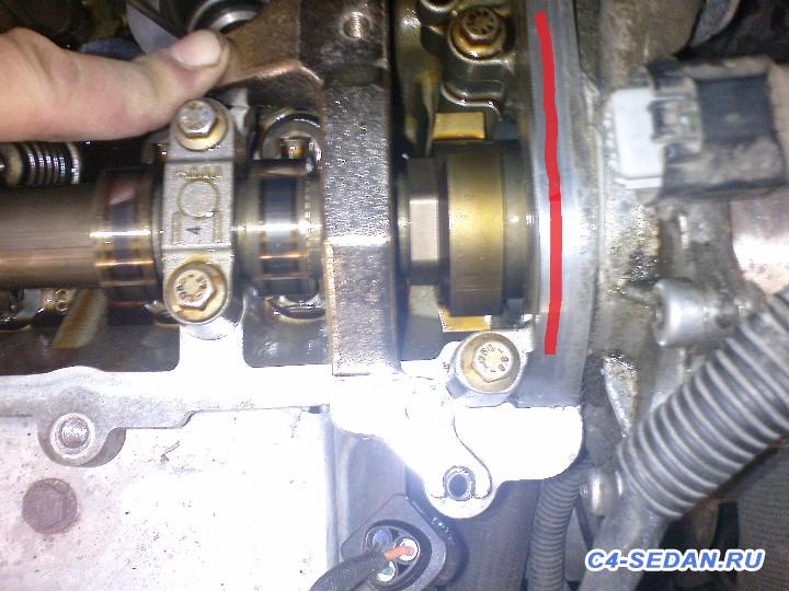 Самостоятельная замена ГРМ, МСК, поршневых колец на двигателе EP6, 120лс. - DSC02769.JPG