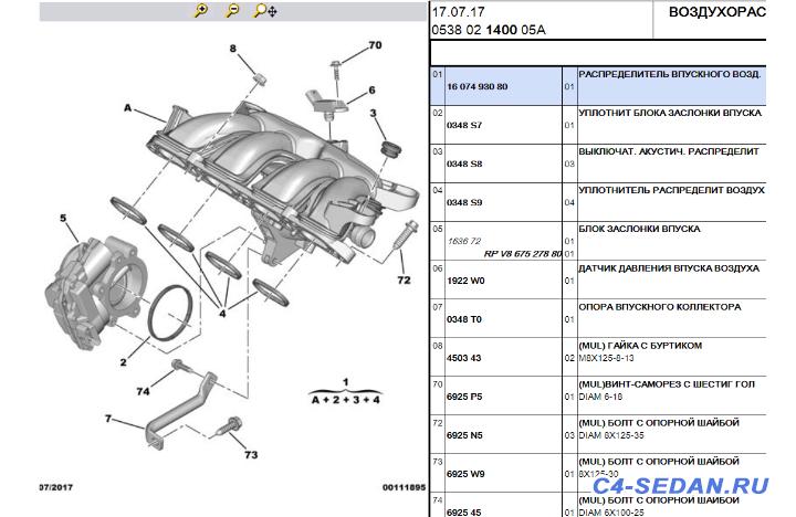 [Москва] Продаю Citroen C4 седан по запчастям - 1607493080.png