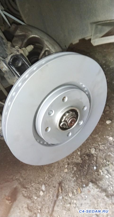 Тормозной суппорт, тормозные диски и колодки - IMG_20180728_185721.jpg