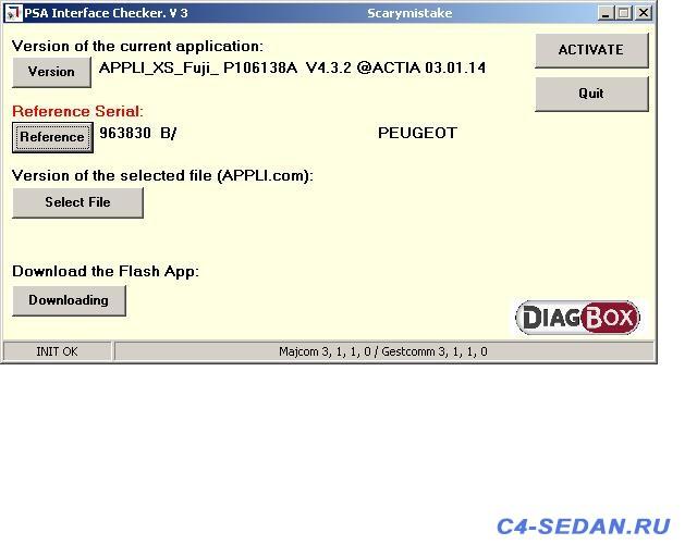 Lexia DiagBox , и активация скрытых возможностей - checker.JPG