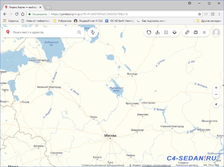 Карта от Yandex проекция Меркатор север строго вверху. - Map_03.png