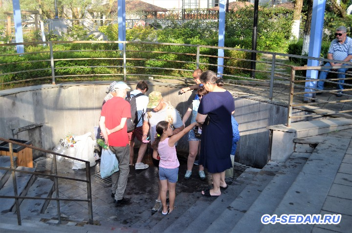 Источник с бесплатной минеральной водой Боржоми. - DSC_0830 (2).JPG