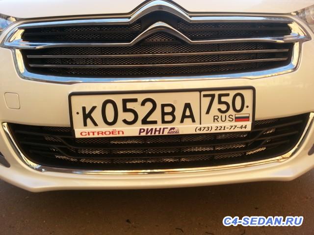 Защитная сетка радиатора в бампер - 20150726_194335.jpg
