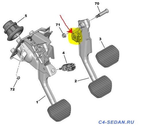 Посторонние звуки при нажатии на педаль тормоза - 1111.JPG