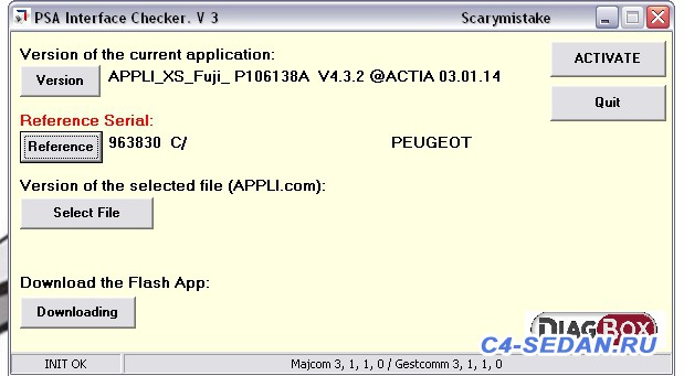 Lexia DiagBox , и активация скрытых возможностей - PSA DIAG BOX - VMware Workstation.jpg