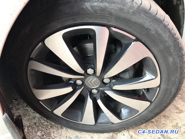 [СПб] обмен колёс 215 50R17 на 215 55R16 - IMG_4277.JPG