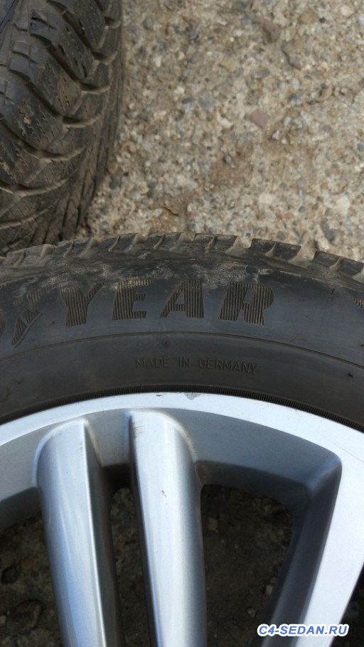 [Москва] Продаю колёса в сборе. Родные диски r16, резина липучка Goodyear - IMG_20190914_141609.jpg