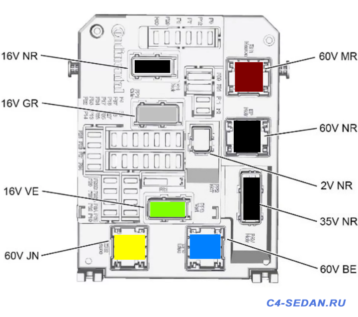 Разъёмы в автомобиле схемы подключения, маркировки  - 2020-02-04_171843.png