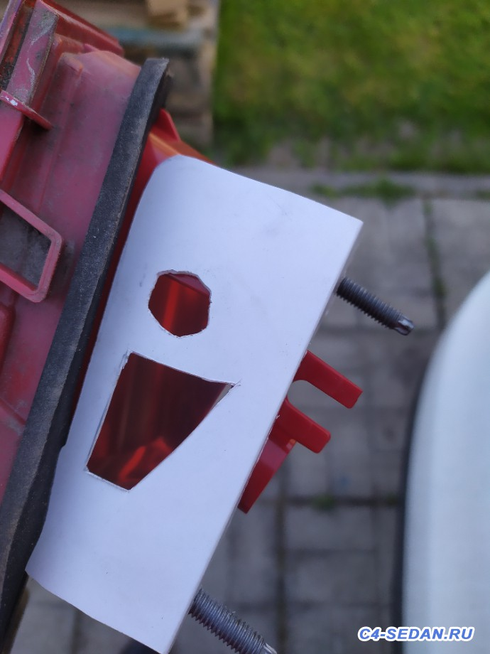 Габариты в крышку багажника фотоотчет от Figaro  - IMG_20200514_190241.jpg
