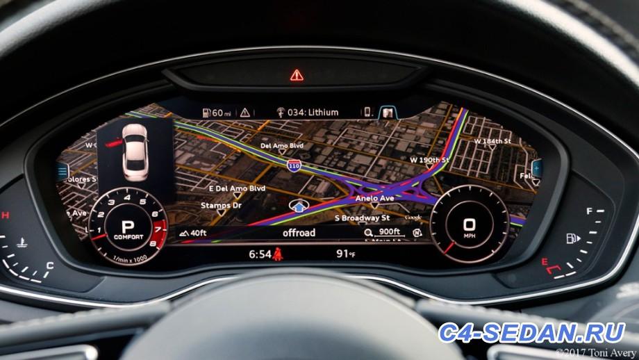 Интересная статья или что почитать . - 2017-Audi-S5-digital-dash.jpg