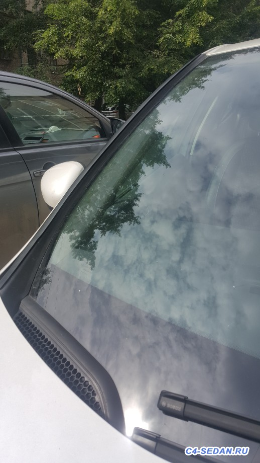 Дефлекторы лобового стекла - 20200705_100758.jpg