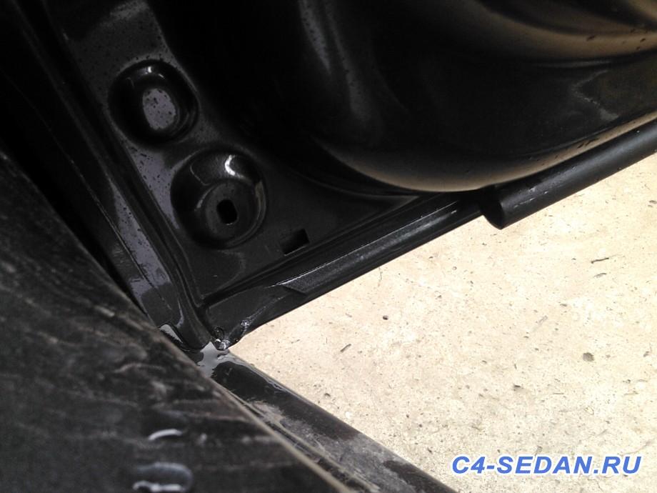 Уплотнители на задние двери дополнительные, оригинальные  - 5a7705d7532c.jpg