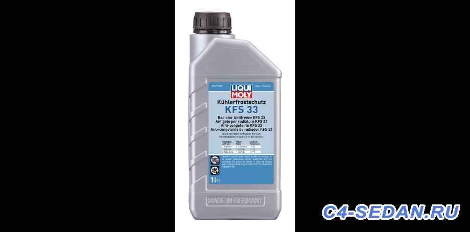 Антифриз Охлаждающая жидкость - Антифриз-концентрат Kuhlerfrostschutz KFS 33 1л.png