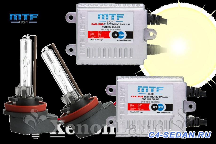 [C4L] Дооснащение фары с HID фотоотчет  - MTF-Slim-Line-Can-Bus-H11-4300K.png