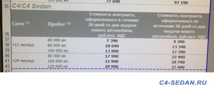 Сервисные предложения Citroen, выгодно? Стоит брать? - ScreenShot00078.png