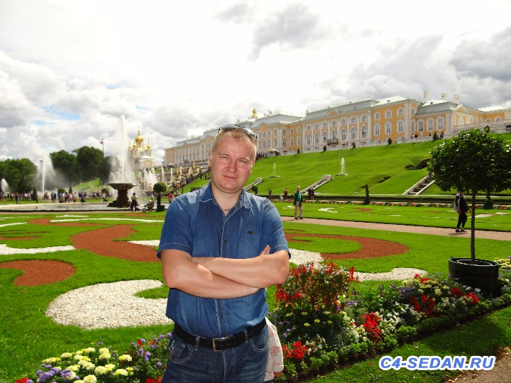 [Путешествие] Москва - Санкт-Петербург, Петергоф - DSC09698.JPG