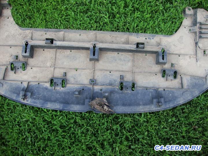 Защитная сетка радиатора в бампер - Сетка в решетку бампера.JPG