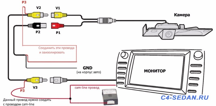 [БЖ] Нештатное ГУ и камера заднего вида - Схема.jpg
