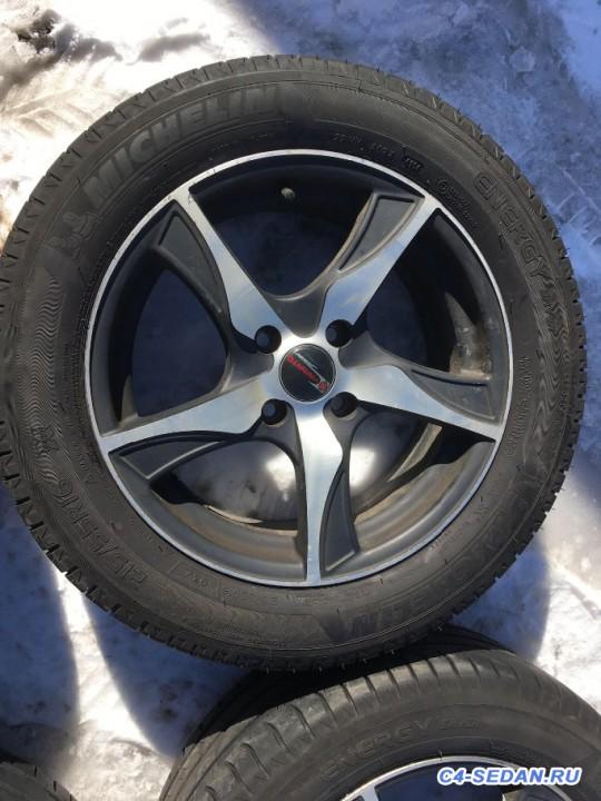 [Москва]Продам колёса,лето диски шины R16. - image.jpeg
