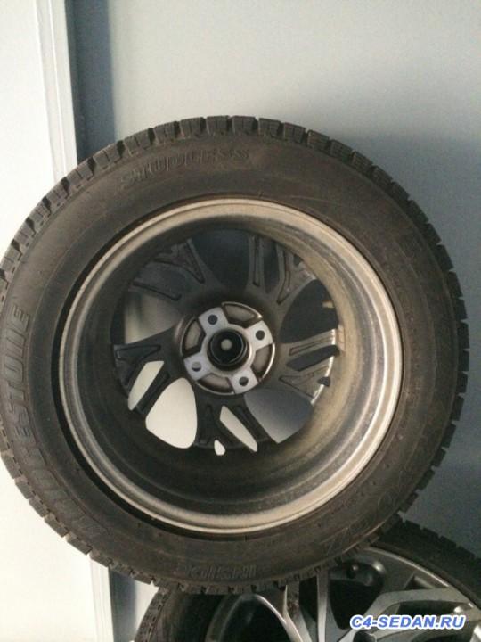 [Москва] Продам зимнюю резину Bridgestone Blizzak Revo GZ диски replica - H-2DTAnmDN4.jpg