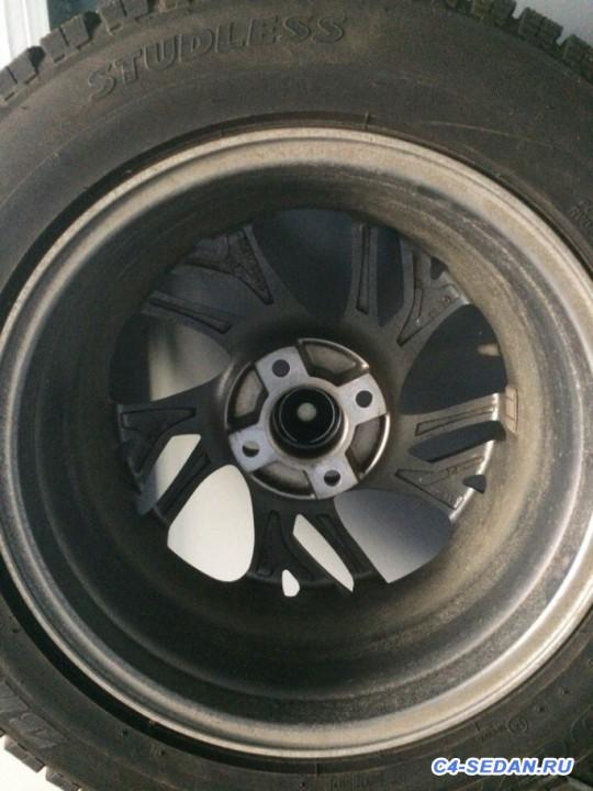 [Москва] Продам зимнюю резину Bridgestone Blizzak Revo GZ диски replica - bNYt9axpc80.jpg