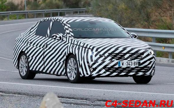 Peugeot 408 нового поколения
