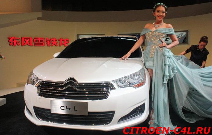 Citroen C4 Седан C4L премьера в Китае